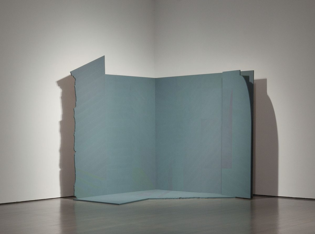 Ombre #4 «Maurice», 1983-1984, Christian Kiopini, Acrylique sur contreplaqué.
