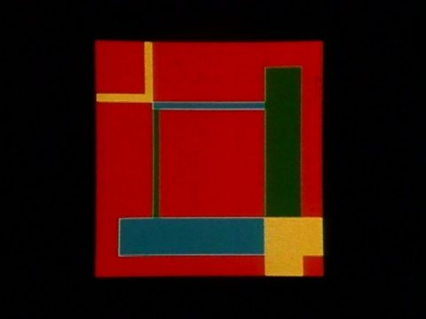 arrêt sur image de Color in Motion, 1975, Roger Vilder, Film couleur, 3 min., son.
