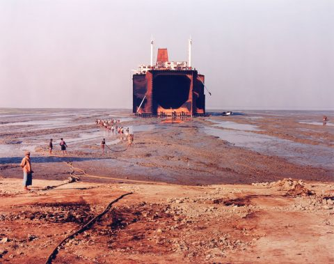 Shipbreaking No. 29, Chittagong, Bangladesh, 2001, printed of 2002, Chromogenic print, 2/10.