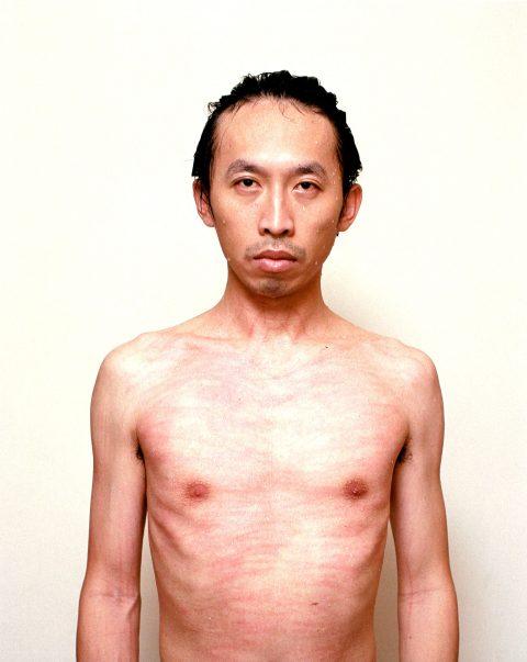 Red Man, 2004, Chih-Chien Wang, Impression jet d'encre montées sous plexiglas, 1/7.