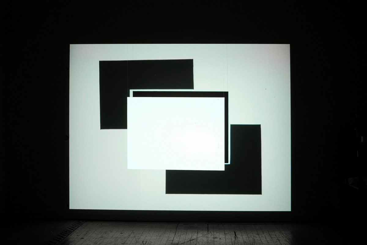 Fantasmagorie lumineuse, 2008, DVD projected on wood screen, stereo sound, 18 min 58 s, 1/3.