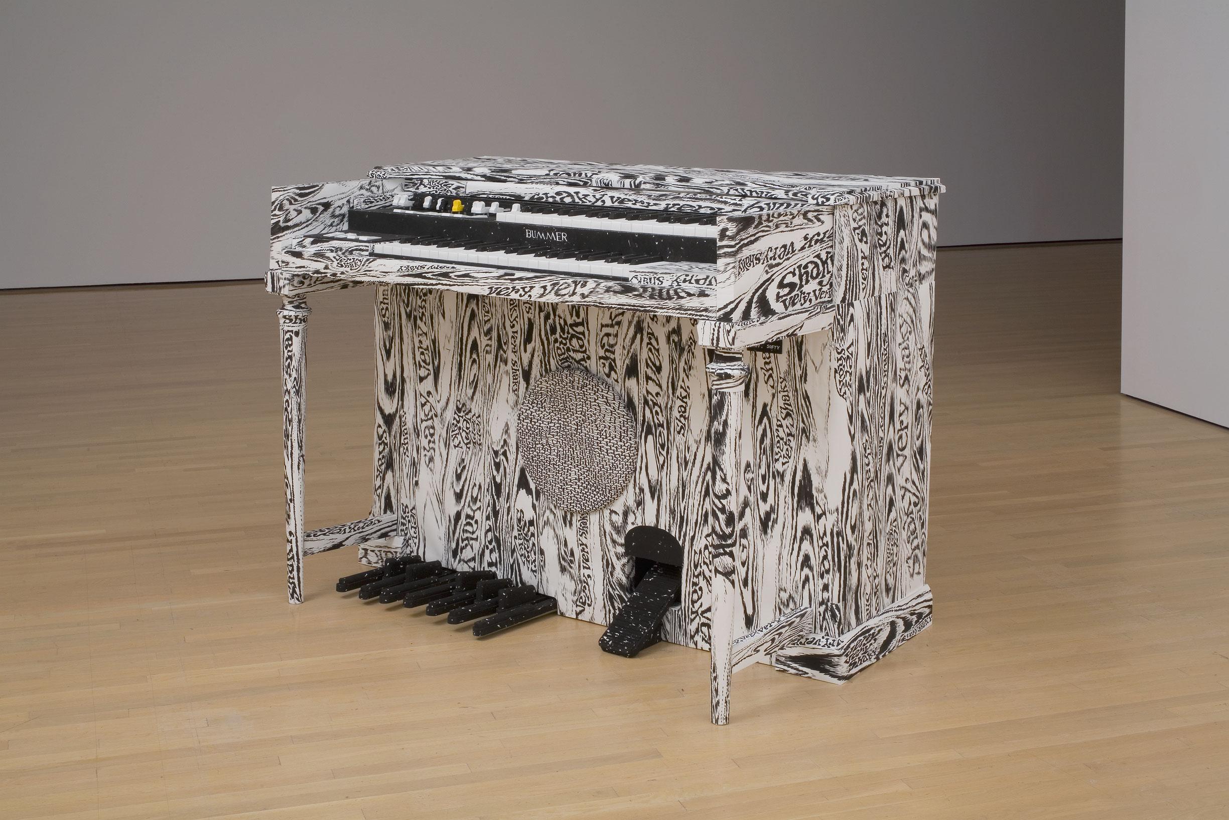 Very, Very Shaky, 2008, Adrian Norvid, Gouache vinylique sur papier.