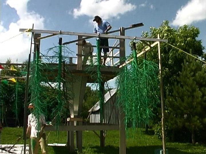 arrêt sur image de Postérité-les-Bains, 2009, bgl, Vidéogramme couleur, 14 min. 52 sec., son.