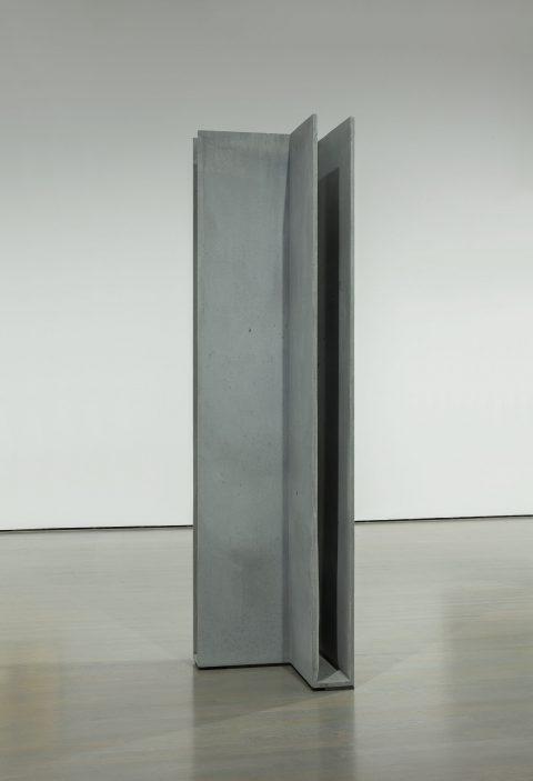 Untitled (Concrete) (tirée de l'installation «Small Flowers Crack Concrete», 2010-2011), 2010-2011, Valérie Kolakis, Béton coulé.