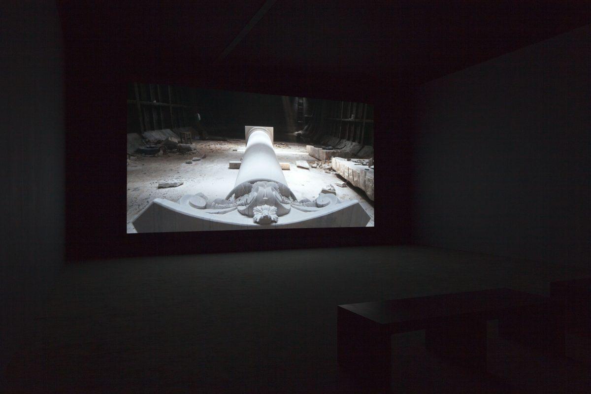 The Column, 2013, HD video, colour, sound, 25 min 40 s, 5/6.