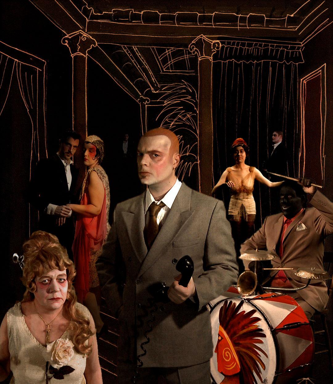 Tableaux, 2011, Claudie Gagnon, Vidéogramme couleur, 21 min. 31 sec., son.