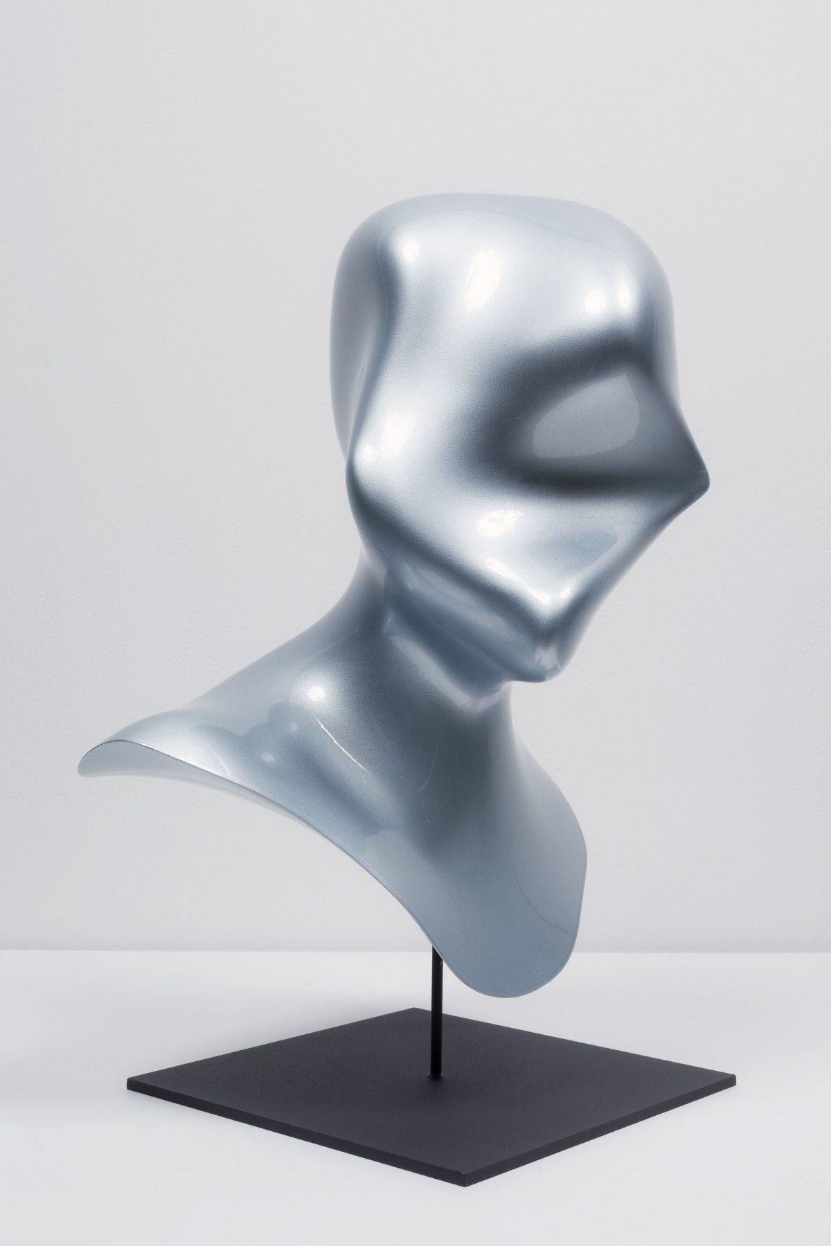 New Age Demanded (Pushed and Pulled), 2014, Jon Rafman, Résine photopolymère 3D et peinture.