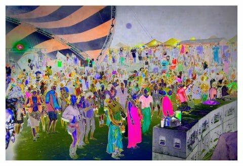 Zombie Dance (de la série «Field Trip»), 2015, Sarah Anne Johnson, Épreuve à développement chromogène, 4/5.
